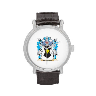 Hubbard Coat of Arms - Family Crest Wrist Watch