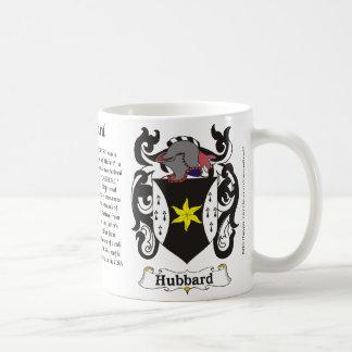 Hubbard Family Coat of Arm mug