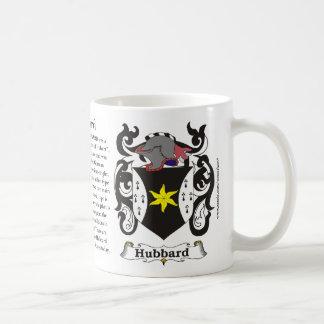Hubbard Family Coat of Arms Mug
