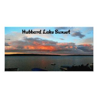Hubbard Lake Michigan Card