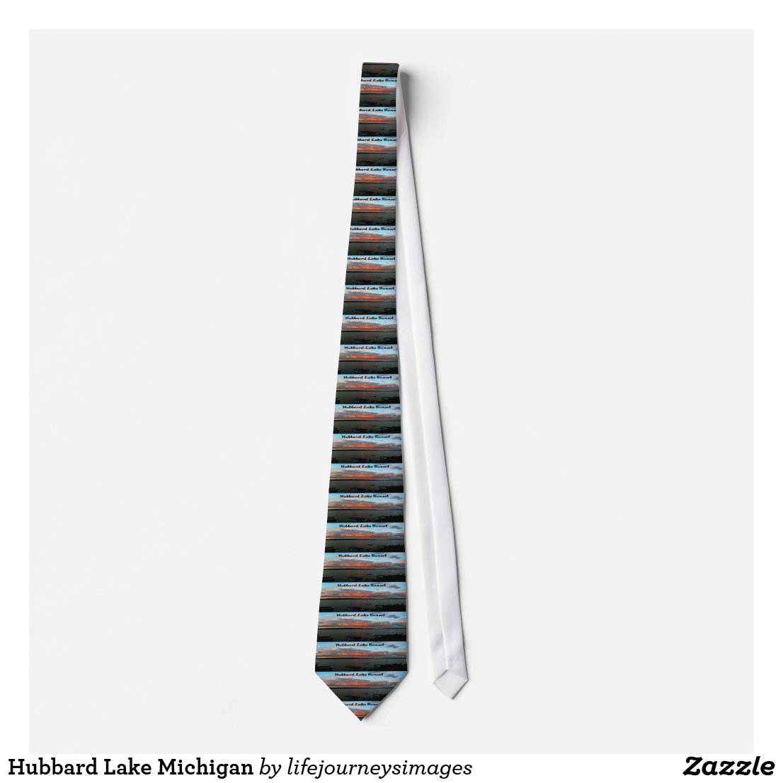 Hubbard Lake Michigan Tie