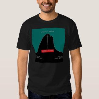 Hubbert curve shirt