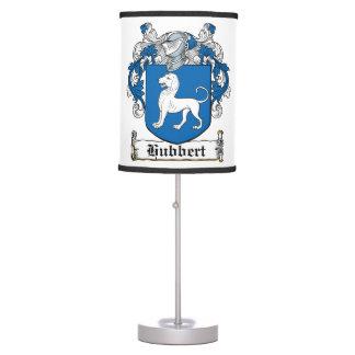 Hubbert Family Crest Table Lamp