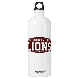 Hubbertville High School; Lions Aluminum Water Bottle