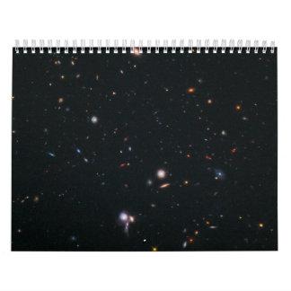 Hubble BoRG 58 Survey Field Calendar