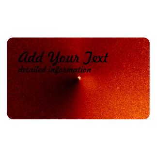 Hubble captura arrebato del cometa tarjetas de visita