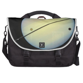 Hubble Catches Titan Chasing Its Shadow - Frame 1. Laptop Bags