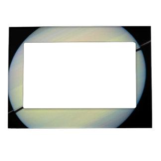 Hubble Catches Titan Magnetic Frames