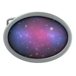 Hubble & Chandra Composite Galaxy Cluster Belt Buc Oval Belt Buckle
