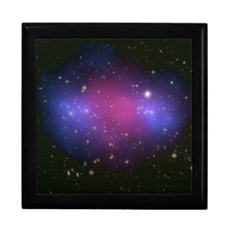 Hubble & Chandra Composite Galaxy Cluster Gift Box