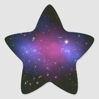 Hubble & Chandra Composite Galaxy Cluster Stickers