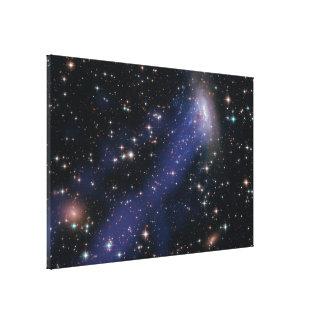 Hubble-Chandra Composite of ESO137-001 Canvas Print