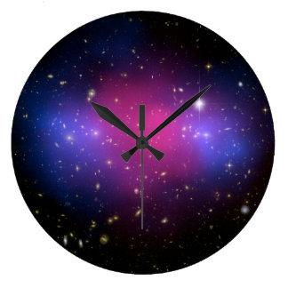 Hubble & Chandra Galaxy Wall Clock
