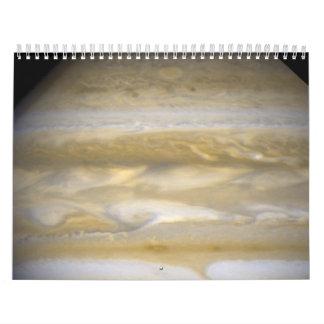 Hubble coge Júpiter que cambia sus rayas Calendario