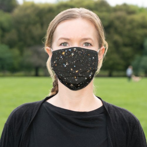 Hubble Deep Field Adult Cloth Face Mask