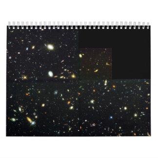 Hubble Deep Field Image at Full Resolution Calendars