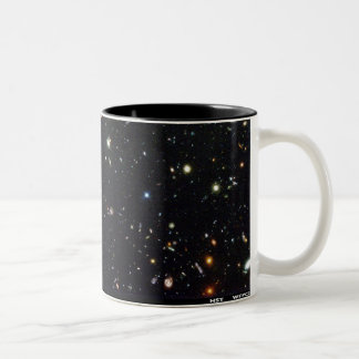 Hubble Deep Field mug. Two-Tone Coffee Mug