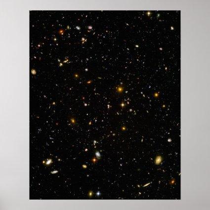 Hubble Deep Field Print
