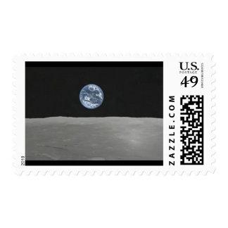 Hubble Earthrise Postage
