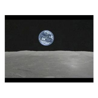 Hubble Earthrise Postcard