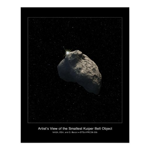 Hubble encuentra el objeto más pequeño de la corre impresiones