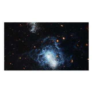 Hubble encuentra la galaxia madura que se disfraza tarjeta de negocio