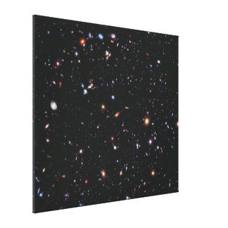 Hubble eXtreme Deep Field Stretched Canvas Prints