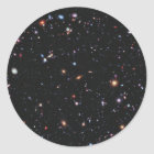 Hubble eXtreme Deep Field Classic Round Sticker
