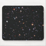 "Hubble eXtreme Deep Field Mouse Pad<br><div class=""desc"">The Hubble eXtreme Deep Field (XDF) is an image of a small part of space in the center of the Hubble Ultra Deep Field within the constellation Fornax, showing the deepest optical view in space. Released on September 25, 2012, it took 10 years to compile the images and shows galaxies...</div>"