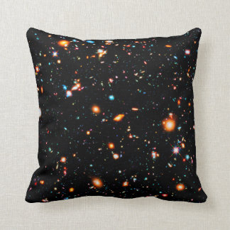 Hubble Extreme Deep Field Throw Pillow