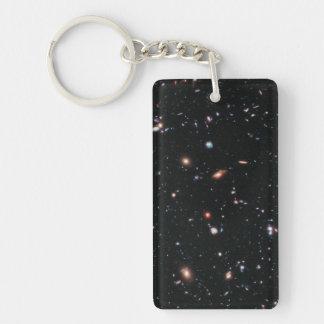 Hubble eXtreme Deep Field (XDF) Double-Sided Rectangular Acrylic Keychain