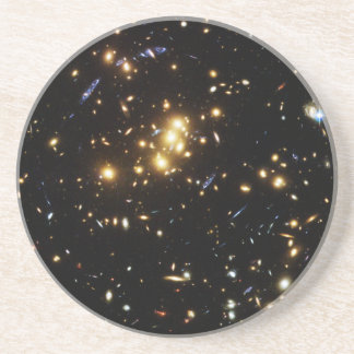 Hubble Finds Dark Matter Ring in Galaxy Cluster Drink Coaster
