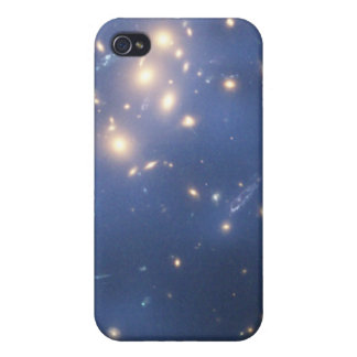 Hubble Finds Dark Matter Ring in Galaxy Cluster iPhone 4 Case
