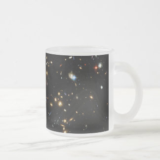 Hubble Finds Dark Matter Ring in Galaxy Cluster Coffee Mugs