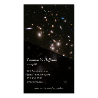 Hubble Frontier Field Abell 2744 Business Card Templates