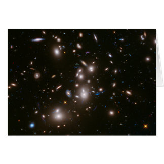 Hubble Frontier Field Abell 2744 Greeting Card