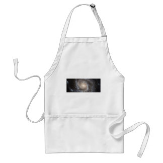 Hubble Galactic Image on Every Day Products Adult Apron