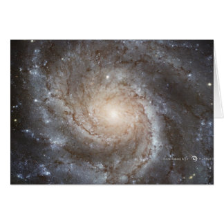 Hubble Galactic Image on Every Day Products Card
