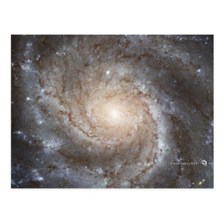 Hubble Galactic Image on Every Day Products Postcard