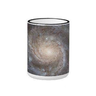Hubble Galactic Image on Every Day Products Ringer Coffee Mug