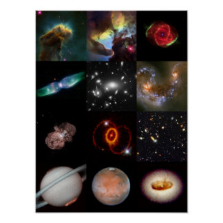 Hubble Hits - Best of Hubble Poster