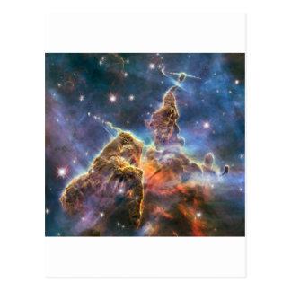 Hubble Image Deep Space Nebula Postcard