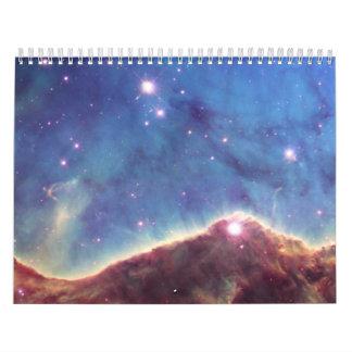 Hubble Image of NGC 3324 Wall Calendar