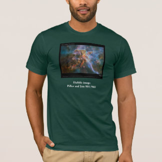 Hubble image - Pillar and Jets 901/902 T-Shirt