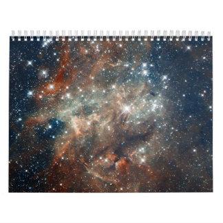 Hubble Images 30 Doradus- NGC 2060 Wall Calendar