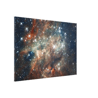 Hubble Images 30 Doradus- NGC 2060 Gallery Wrap Canvas