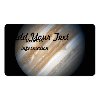 Hubble Images Jupiter in Support Business Card Templates