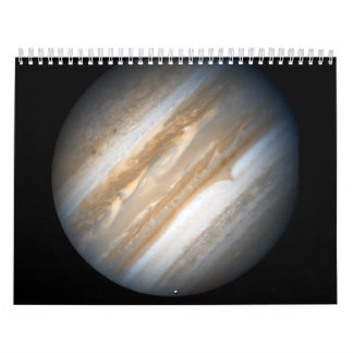 Hubble Images Jupiter in Support Wall Calendar