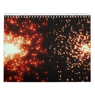 Hubble Images of Star Cluster Wall Calendar