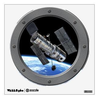 Hubble In Earth Orbit Wall Decal